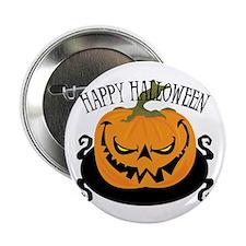 "Scary Pumpkin 2.25"" Button (10 pack)"