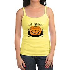 Scary Pumpkin Jr.Spaghetti Strap