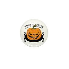 Scary Pumpkin Mini Button (10 pack)