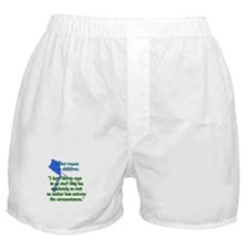 Child-Free Reason Boxer Shorts