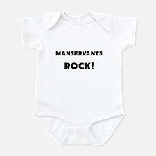 Manservants ROCK Infant Bodysuit