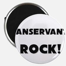 """Manservants ROCK 2.25"""" Magnet (10 pack)"""