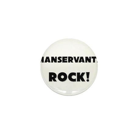 Manservants ROCK Mini Button