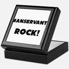 Manservants ROCK Keepsake Box