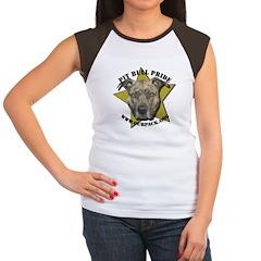 Pit Bull Pride Women's Cap Sleeve T-Shirt
