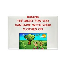 baking gifts t-shirts Rectangle Magnet