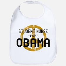 Student Nurse for Obama Bib