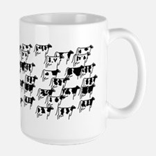 Holstein Herd Large Mug