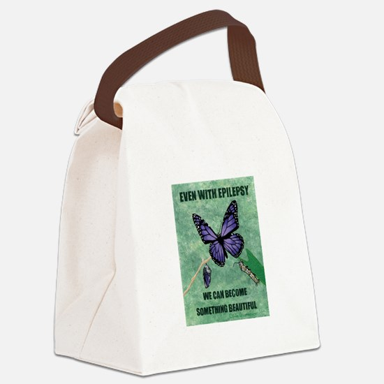 SOMETHING BEAUTIFUL Canvas Lunch Bag