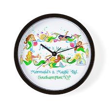 Southampton believes in Mermaids Wall Clock