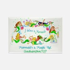 Southampton believes in Mermaids Rectangle Magnet