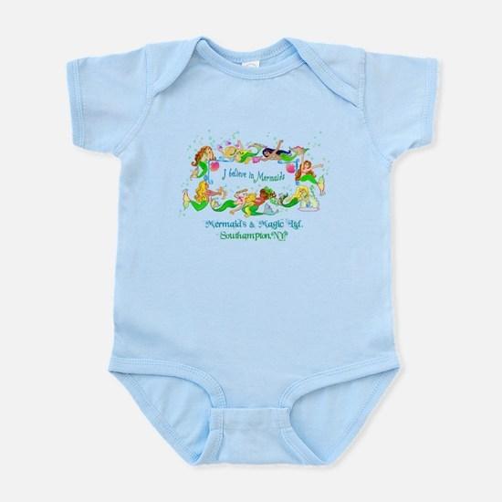 Southampton believes in Mermaids Infant Bodysuit
