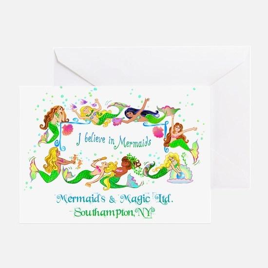 Southampton believes in Mermaids Greeting Card