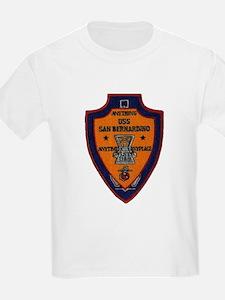 USS SAN BERNARDINO Kids T-Shirt