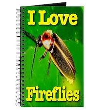 I Love Fireflies Notebook & Journal