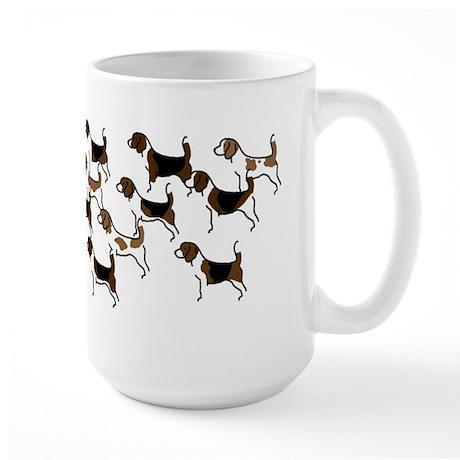 Group o' Beagles Large Mug