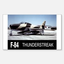 F-84 F THUNDERSTREAK Rectangle Decal