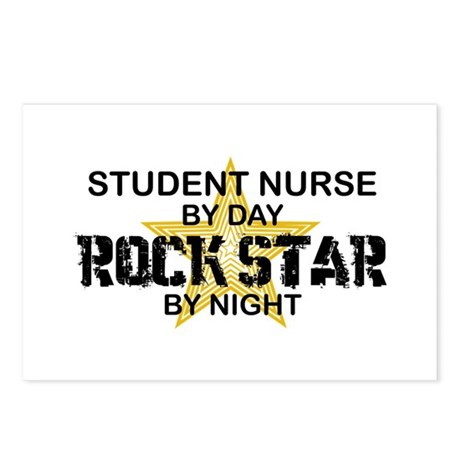 Student Nurse Rock Star by Night Postcards (Packag