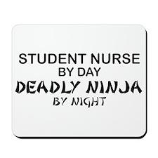 Student Nurse Deadly Ninja by Night Mousepad