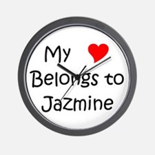 Cool Jazmine Wall Clock