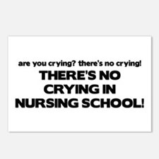 There's No Crying in Nursing School Postcards (Pac