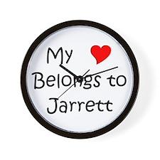 Funny Jarrett Wall Clock