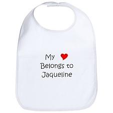 Funny Jaqueline Bib