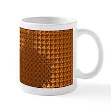 Julia Set Map Mug, orange, z^3