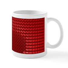 Julia Set Map Mug, red, z^2