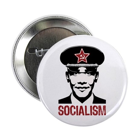 "Obama Socialism 2.25"" Button"