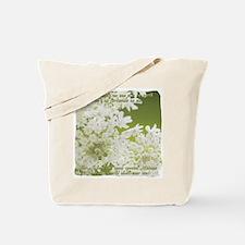 Memaw White Jasmine Tote Bag