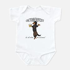 LHBT Oktoberfest Dachsie Infant Bodysuit