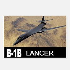 B-1B LANCER BOMBER Postcards (Package of 8)