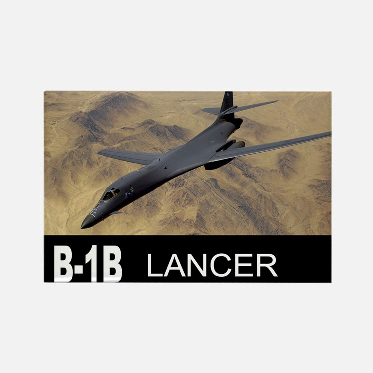 B-1B LANCER BOMBER Rectangle Magnet (10 pack)