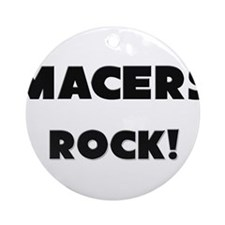 Macers ROCK Ornament (Round)