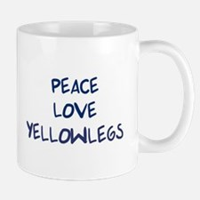 Peace, Love, Yellowlegs Mug