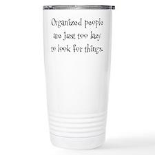 Organized People Travel Mug