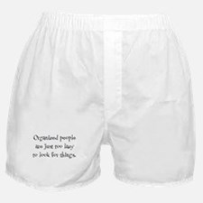 Organized People Boxer Shorts