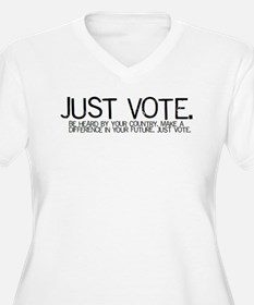 Women's V-Neck Voter's Tee (Plus sizes)