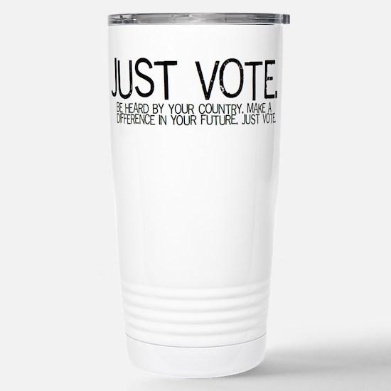 Voter's Stainless Steel Travel Mug