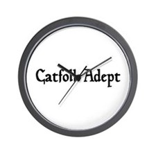 Catfolk Adept Wall Clock