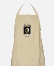 Just Lie There And Do What th BBQ Apron