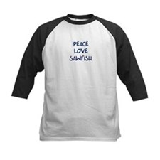 Peace, Love, Sawfish Tee