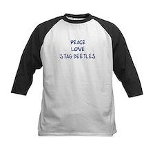 Peace, Love, Stag Beetles Tee