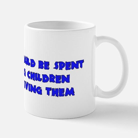 Think More Breed Less Mug