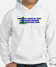 Think More Breed Less Hoodie