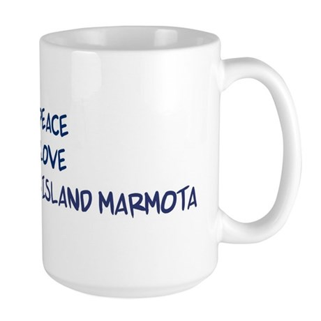 Peace, Love, Vancouver Island Large Mug