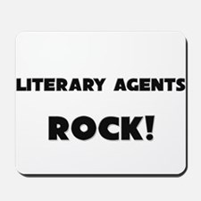 Literary Agents ROCK Mousepad