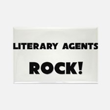 Literary Agents ROCK Rectangle Magnet