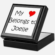 Cute Joelle Keepsake Box